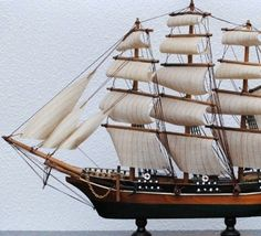 1869 cutty model ship