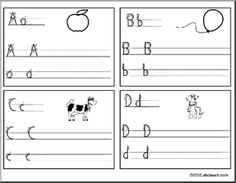 Handwriting : HWT font (based Handwriting Without Tears ® style font)