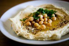 Hummus with Za'atar - recipe for both