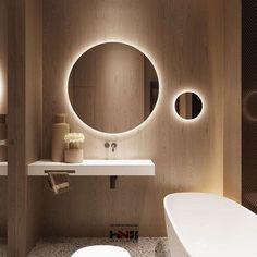 34 new ideas for bathroom mirror makeover rustic toilets Small Bathroom Mirrors, Bathroom Mirror Design, Bathroom Mirror Makeover, Bathroom Lighting Design, Bathroom Mirror Lights, Bathroom Mirror Cabinet, Mirror Cabinets, Bathroom Interior Design, Modern Bathroom