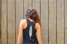 Feather and Wanderlust - Eco-friendly flowy tank top shirt in Eco ...