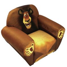 Newco Kids Madagascar Alex the Lion Kids Novelty Chair
