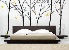 Tree bedroom decal