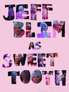 Jeff Blim as Sweet Tooth love love love.  starkid starkidpotter