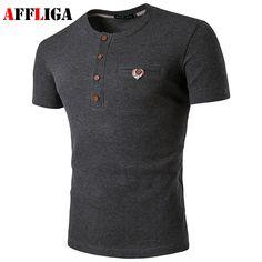 2017 Summer New Fashion Brand Clothing Tshirt Men Solid Color Slim Fit Short Sleeve T Shirt Men O-neck Collar Casual T-Shirts