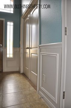 One of the next projects - wainscoting
