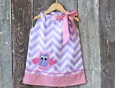 """Owl """"Pillowcase"""" Dress, 61% off this week only!  Just $13.50!"""