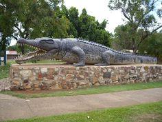 From Normanton, Australia - World's Biggest Crocodile, Crocodile Pictures and Crocodile Facts Aussie Australia, Queensland Australia, Australia Travel, Western Australia, Crocodile Facts, Crocodile Pictures, Places To Travel, Places To See, Travel Destinations