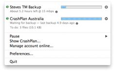 Why I stopped using Time Machine and switched to CrashPlan Mac Software