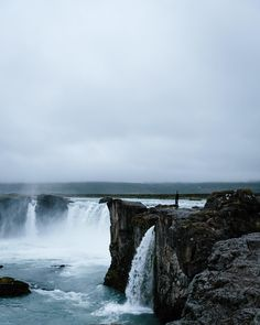 Godafoss waterfall, Iceland   Beth Kirby (@local_milk) • Instagram photos and videos