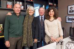 Mario, Paola, Sergio e Silvia Goppion