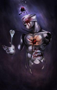 by Ninjatic on DeviantArt Dark Gothic Art, Dark Art, Devian Art, World Of Darkness, Horror Art, Surreal Art, Occult, Art Drawings, Digital Art