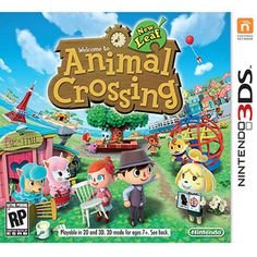 Nintendo Animal Crossing New Leaf (Nintendo 3DS) all the more reason for me to get a 3DS