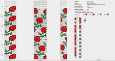 12 around tubular bead crochet rope pattern Bead Crochet Patterns, Bead Crochet Rope, Beaded Jewelry Patterns, Beading Patterns, Embroidery Patterns, Crochet Beaded Necklace, Beaded Earrings, Seed Bead Bracelets, Bead Jewellery