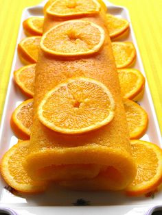 Torta de laranja by a galinha maria, via Flickr
