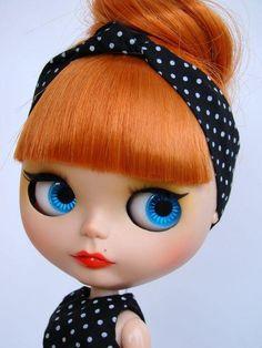Cute vintage  blythe doll | via Tumblr
