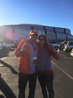 Yep that's right! The Icon Groups very own Manager is standing in front of the stadium hosting the National Championship waiting for kickoff and to cheer his beloved Clemson Tigers to victory! Who are you rooting for this year?!