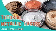 Tutorial ceras metalizadas Metallic Lustre - YouTube