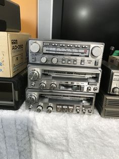 Radios, Pioneer Car Stereo, Car Audio, Man Cave, Sony, Nostalgia, Vintage, Collection, Opal