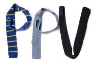Gebreide das 1 - - philippe perzi  - Must-wear: De gebreide stropdas - Manify.nl