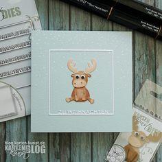 Karten-Kunst » Rentier-Grüße