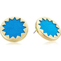 House of Harlow Teal Sunburst Earrings NWT House of Harlow teal suede/leather sunburst earrings. Make an offer or bundle to save! House of Harlow 1960 Jewelry Earrings