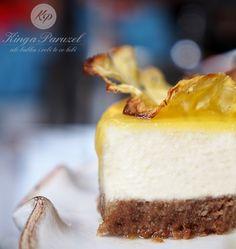 Sernik kokosowy z lukrem ananasowym - #Coconut #Cheesecake with Pineapple Frosting http://kingaparuzel.pl/blog/2013/10/sernik-kokosowy-z-lukrem-ananasowym/ #recipe #food #ilovefood