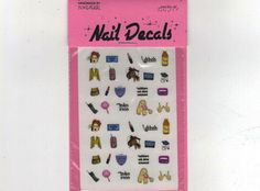 Clueless Nail Decals