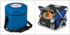 Game Day Cooler Chairs from HotRef.com #coolerchair #promotionalproducts #gameday Lunch Cooler, Coolers, Promotion, Chairs, Company Logo, Canning, Game, Gaming, Stool