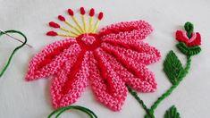 Hand Embroidery: Caston stitch variation