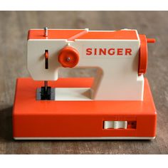 Sewing machine for Kids by SINGER:  Yep, we had one.  :)