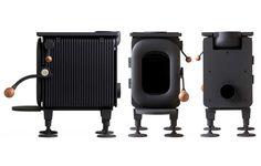 a 2016 g-mark japan GOOD DESIGN award goes to the efficient wood burning stove AGNI hutte.