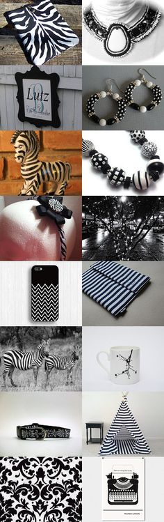 Black and White by Amy Roe on Etsy--Pinned with TreasuryPin.com #septemberfinds