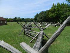 Ferry Farms, Fredericksburg, VA.  Boyhood home of George Washington