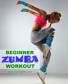 FREE beginner Zumba (R) Workout on Tone-and-Tighten.com - you can stream this video workout right now in your own home!