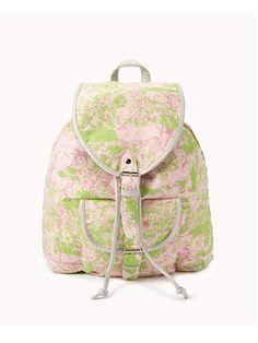 Metallic Paint Splatter Backpack, $22