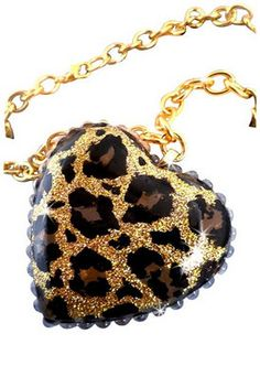 Gold Leopard Print Necklace