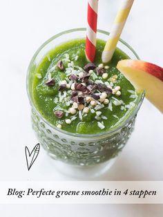 Het perfecte begin van je dag: de groene smoothie. Niet alleen hartstikke lekker, maar ook nog eens super gezond.