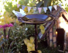 Fairy Garden Bird Bath Miniature Garden