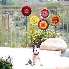 beautiful garden art