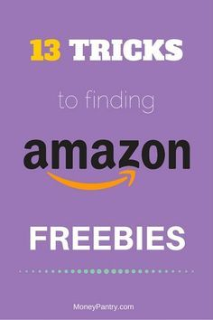 13 Tricks to Find Useful Amazon Freebies (No Junk Samples!) - MoneyPantry