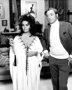 Elizabeth Taylor and Peter Sellers