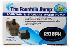 Danner The Fountain Pump 120GPH