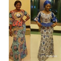 Lovely Patterned Ankara outfit /stoned .. TKF