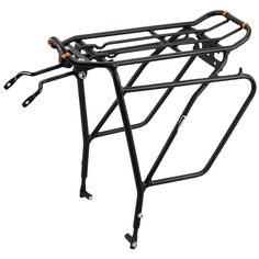 """26/"""" Road Touring Bike Soma Fabrications Deco Rear Bicycle Rack Silver 700c"""