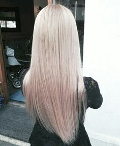 Love Mauve ombre balyage long hair look. Perfect for fall
