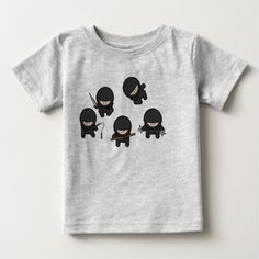 Discover a world of laughter with funny t-shirts at Zazzle! Tickle funny bones with side-splitting shirts & t-shirt designs. Laugh out loud with Zazzle today! Funny Baby Shirts, Funny Babies, Funny Tshirts, Cute Babies, Funny Toddler, Baby Boy Shirts, Mom Funny, Funny Phrases, Funny Quotes