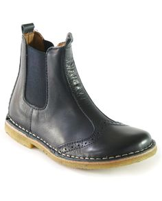 Bisgaard Brogue Ankle Boot