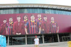 Barcelona Holiday 2013  Day 2 Part 2: Camp Nou #Campnou #Barcelona #Stadium