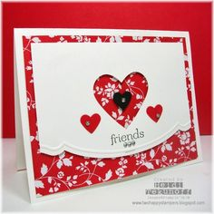 Adorning Accents Valentine by stamptek - Cards and Paper Crafts at Splitcoaststampers
